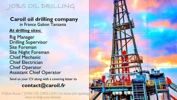 Oil and Gas Jobs: Caroil Drilling Company Jobs in France ...