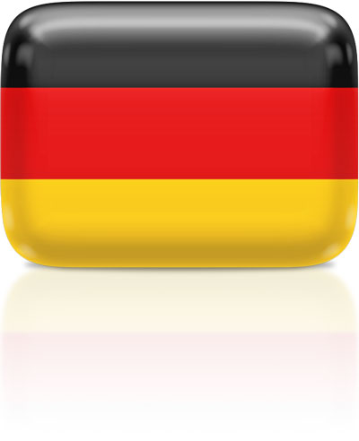 German flag clipart rectangular