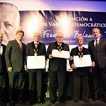 """Ceremonia de Distinción a los Valores Democráticos """"Fernando Belaunde Terry"""""""