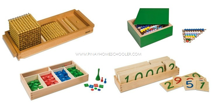 Early Child Montessori Math Materials Group 2