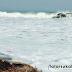 Gelombang Laut Kembali Terjang Pantai Laut Selatan Palabuhanratu
