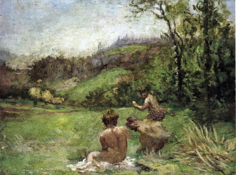 Ker Xavier Roussel - Satyrs in a Landscape