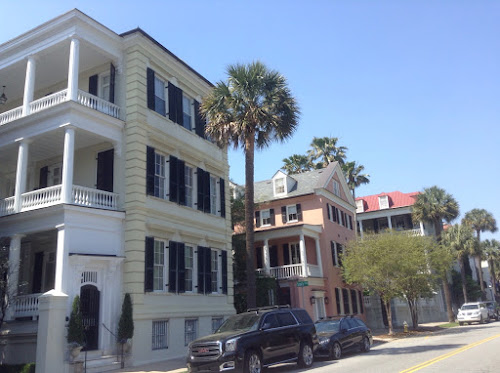 Historic homes in Charleston, SC