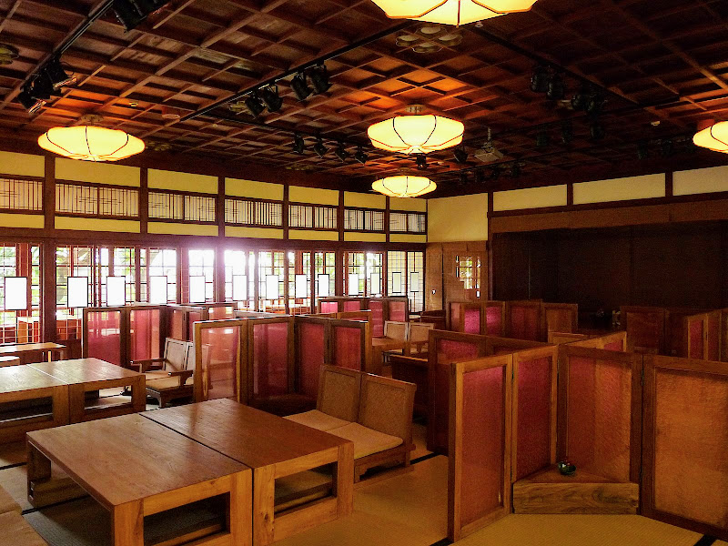 TAIWAN.Taipei .Maison japonaise vers Beitou et Musée National de Taipei à côté du Peace park - P1060372.JPG