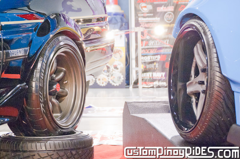 RR Dagon's AE86 Black Limited and Coy Enriquez' Rocket Bunny 86 Trans Sport Show Custom Pinoy Rides pic2