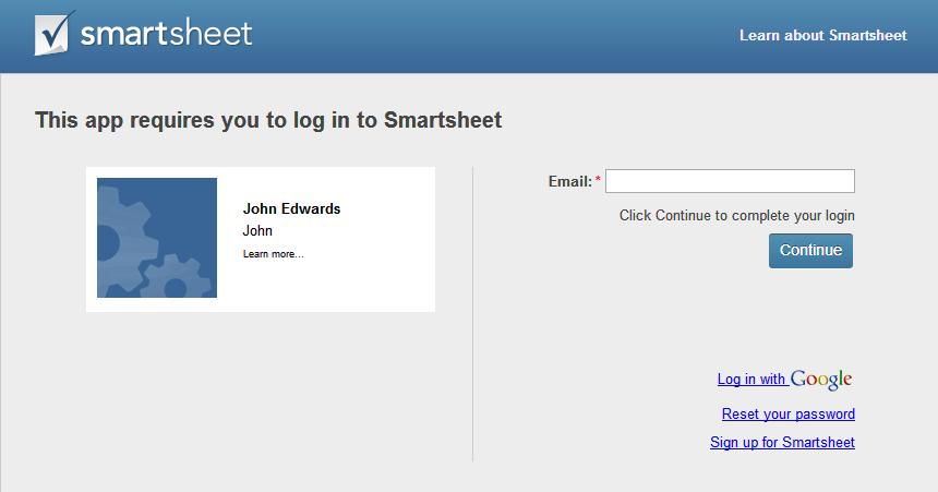 smartsheet integration