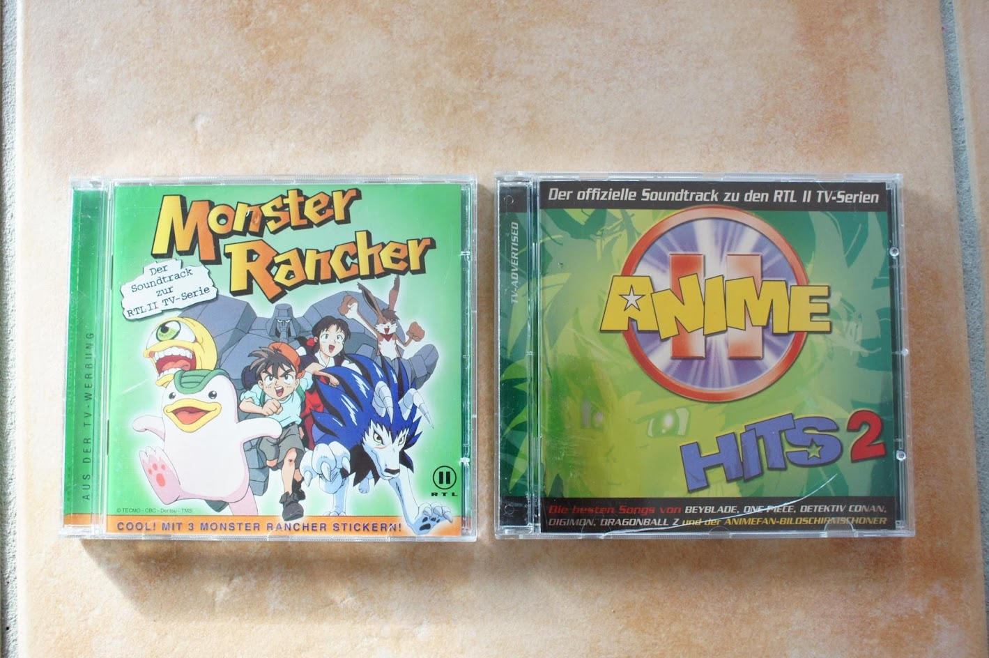 Anime CDs Monster Rancher Anime Hits 2