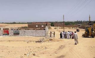 محافظ أسوان يتابع أستكمال حملات الموجة ألــ 18 لإزالة التعديات