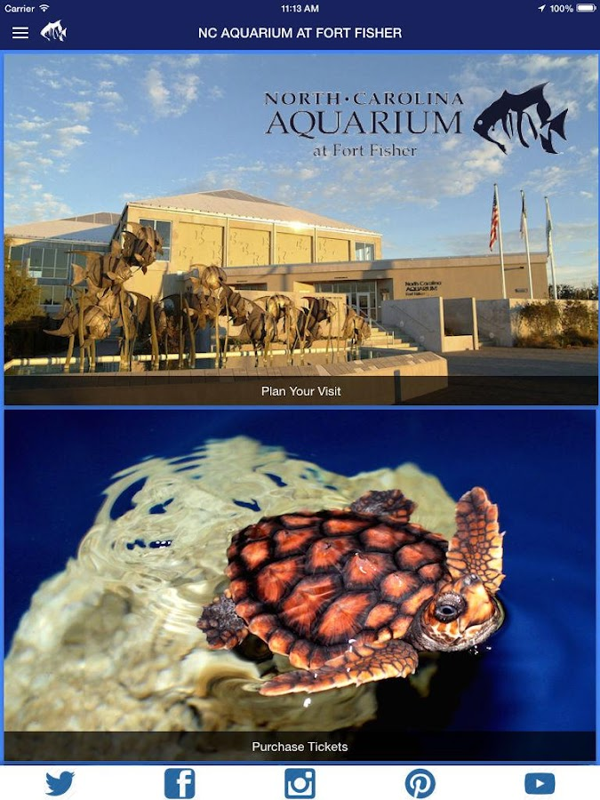 Nc Aquarium At Fort Fisher Android Apps On Google Play