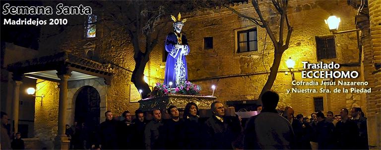Traslado de EcceHomo a la Caridad para procesionar el Jueves Santo = 154 FOTOS