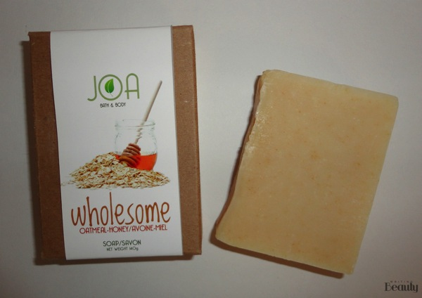 Joa Bath  Body Review Wholesome Bath Soap