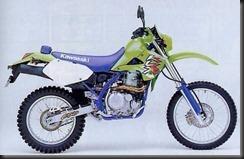 Kawasaki KLX650 97