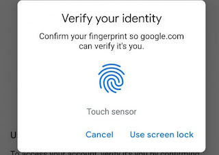 Android Now Allows You Sign Into Google Apps Using Fingerprint