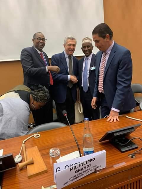 Garissa Governor Ali Korane Attending Global Refugee Forum in Geneva, Switzerland.