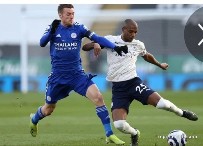 Goals from Benjamin Mendy and Gabriel Jesus kept Man  City title challenge on track