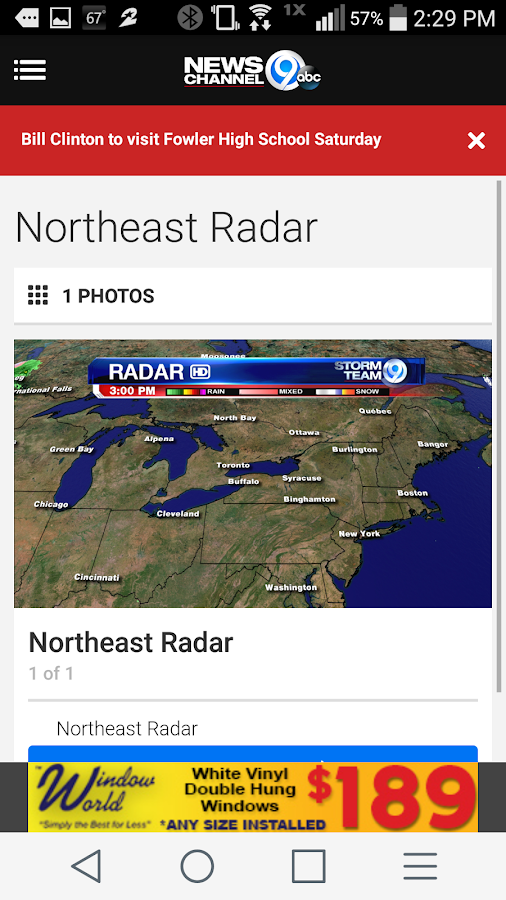 NewsChannel 9 WSYR Syracuse- screenshot