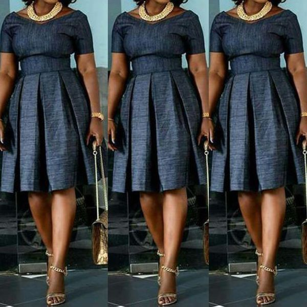 AFRICAN PRINT DRESSES FASHION FOR LADIES 2020 5