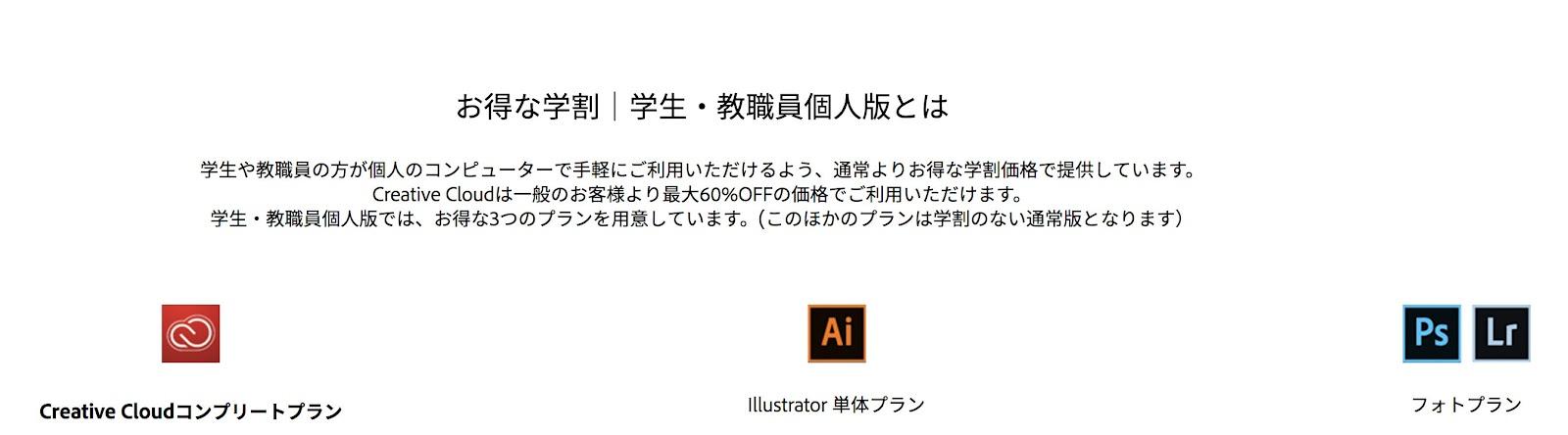 Adobegakuseiwaribikiyasui