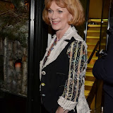 WWW.ENTSIMAGES.COM -    Samantha Bond    at        One Night Only - charity event at The Ivy, 1-5 West Street, London December 1st 2013                                               Photo Mobis Photos/OIC 0203 174 1069