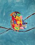 Collage Bird by Brandon