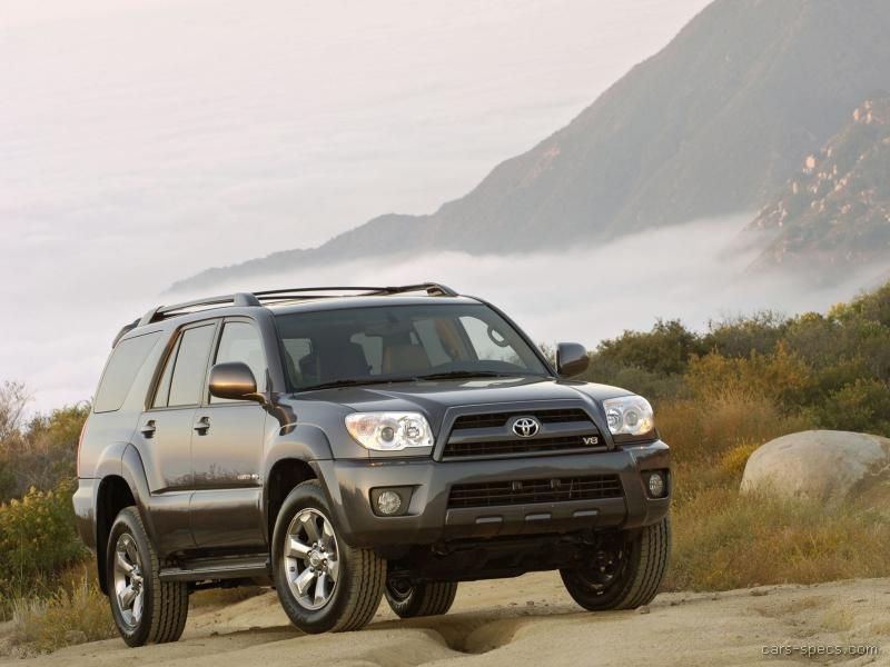 2005 Toyota 4runner Suv Specifications Pictures Prices
