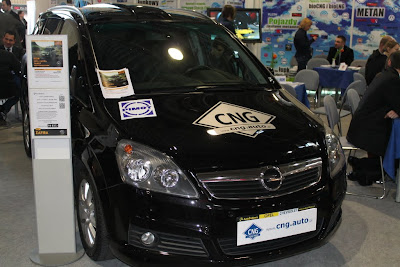 Opel Zafira 1.6 CNG (gaz ziemny, metan)