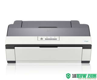 How to reset flashing lights for Epson ME-1100 printer