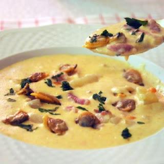 Creamy Ham Soup.