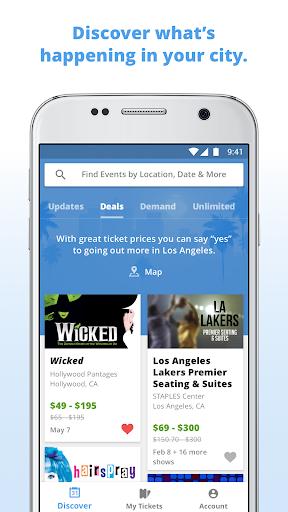 Goldstar: Live Event Tickets Screenshot