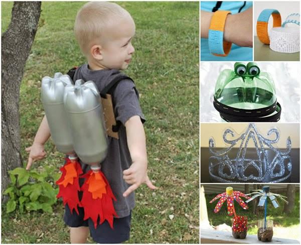 Artesanato para Dia das Crianças