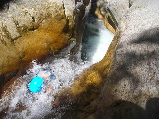 Toboggan canyon du cramassouri