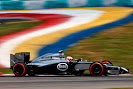Kevin Magnussen on track McLaren MP4-29