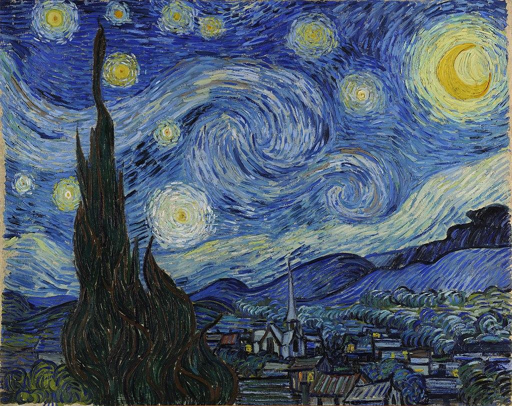 The Starry Night, 1889