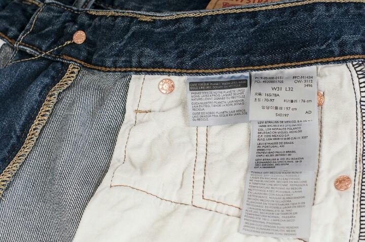 quần jean levis nam giá rẻ hà nội