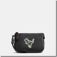 57183 COACH Varisty Patches Turnlock Pouch - 235GBP