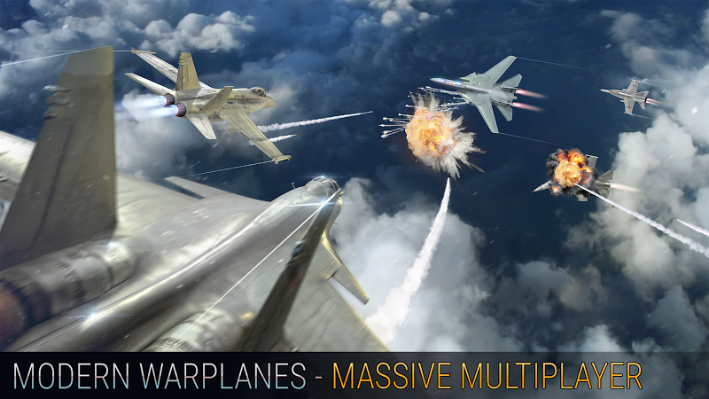 Modern Warplanes: Wargame Shooter PvP Jet Warfare Screenshot 4