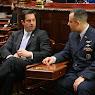 Meeting with Nicholas Passarella, Major, USAFR