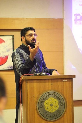 mohammad umer iftikhar at arts council