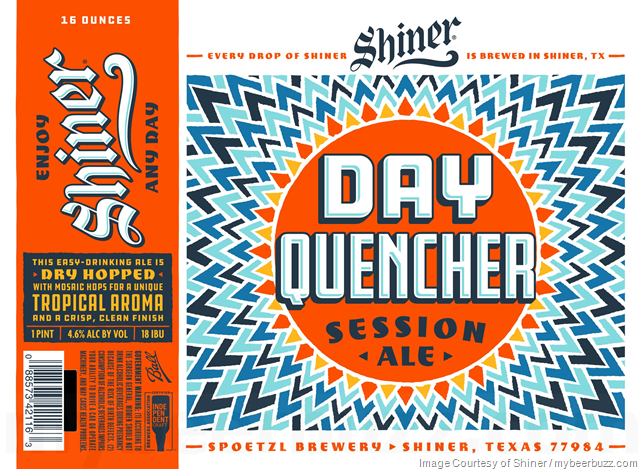 Shiner Day Quencher Session Ale 16oz Cans