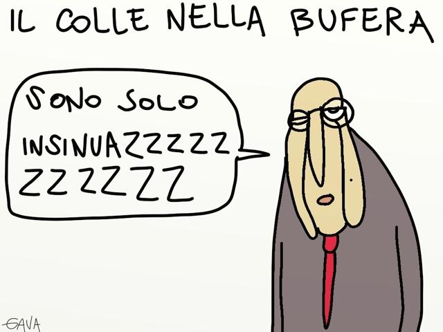 Napolitano Gava satira vignette bufera