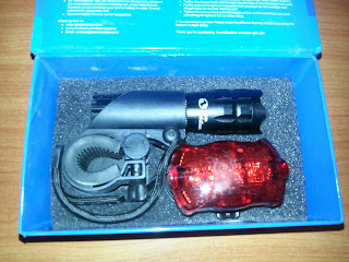 #TeamObsidian Bicycle light set