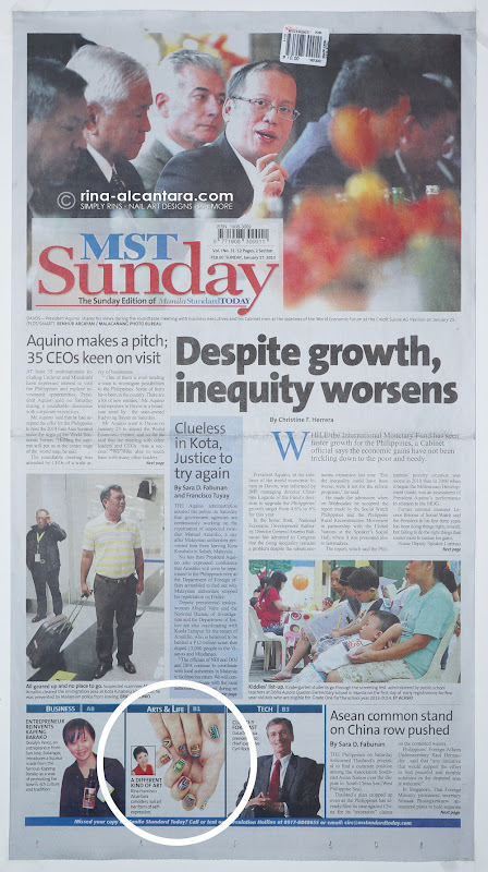 Manila Standard Today Featured Simply Rins