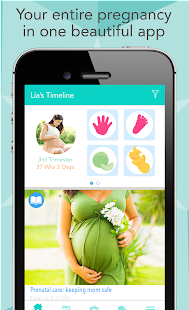 Download Ovia Pregnancy Tracker & Baby Countdown Calendar For PC Windows and Mac apk screenshot 1