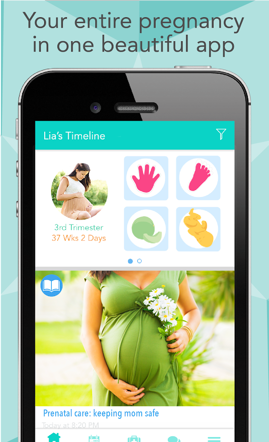 Ovia Pregnancy Tracker Amp Baby Countdown Calendar Android