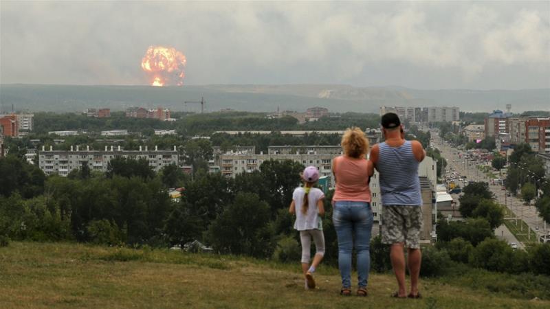 روسيا: ارتفاع مستويات الإشعاع النووي من 4 إلى 16 مرة