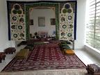 Sala de oración del Centro Cultural Islámico de Colombia