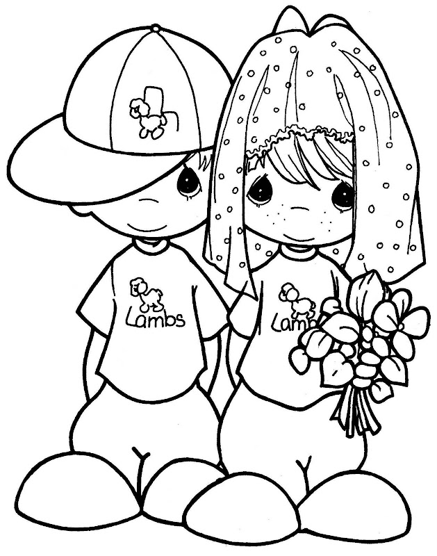 Precious Moments Animal Coloring Pages - Coloring Home | 800x629