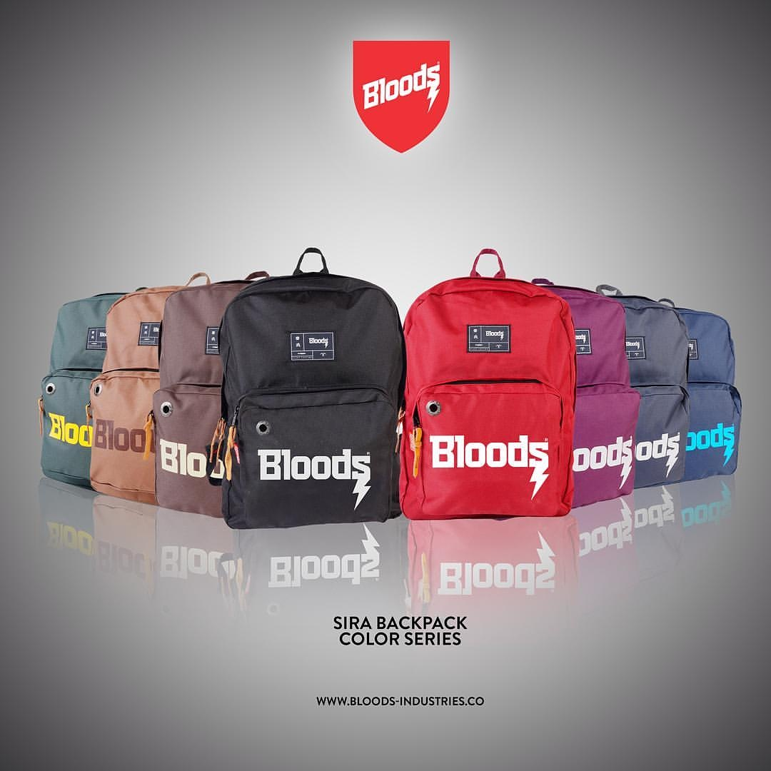Tas Distro Bloods Bandung A Big Deal Gshop Zuk 9415 Ransel Pria Cordura Keren Hitam Kom