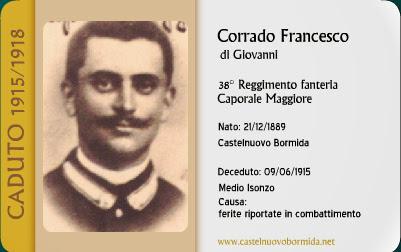 I Guerra Mondiale - Corrado%2BFrancesco%2Btessera.jpg