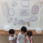 White Day Celebrated by Playgroup - Morning Section at Witty World, Chikoowadi (2017-18)
